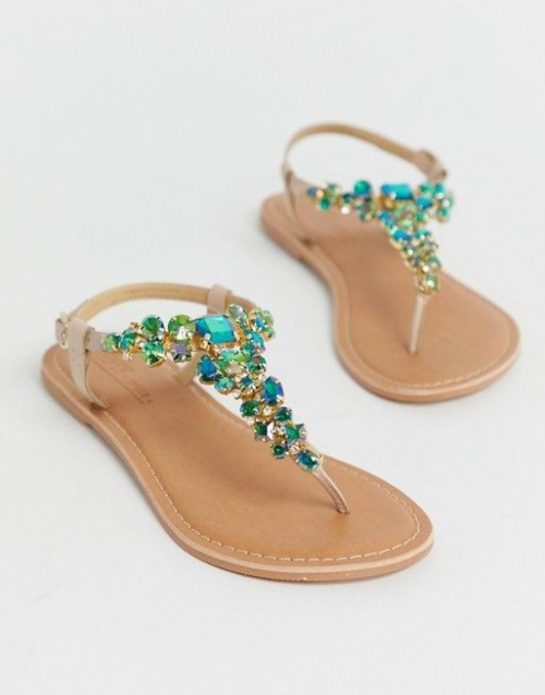 ASOS DESIGN  - Sandales ornées
