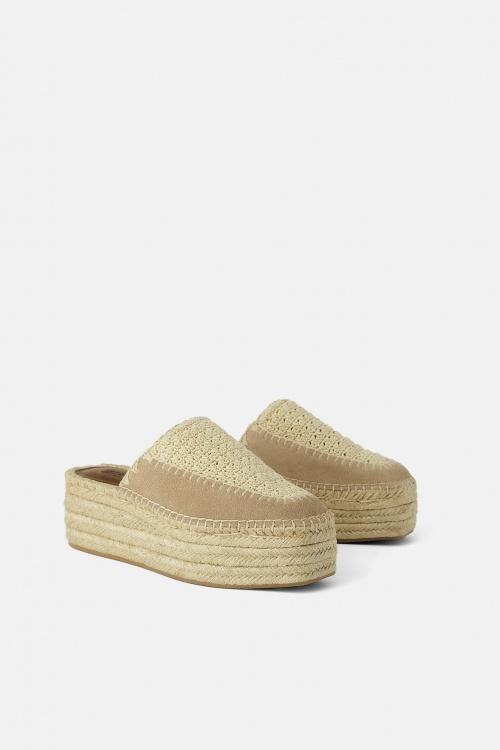 Zara - Chaussures compensés