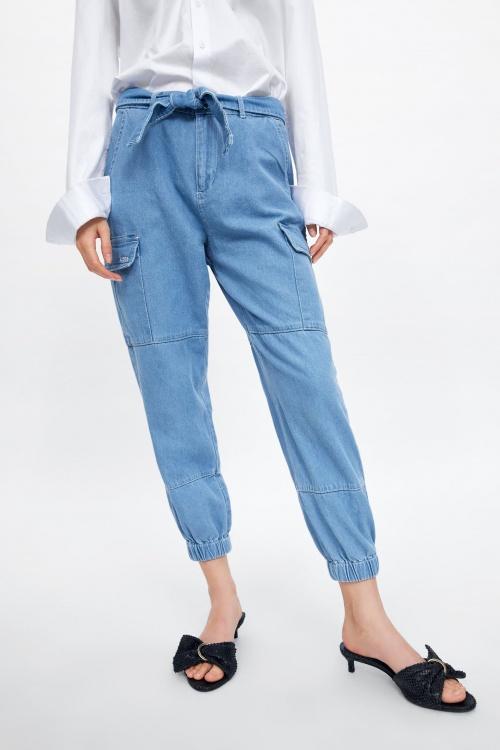 Zara - Pantalon cargo