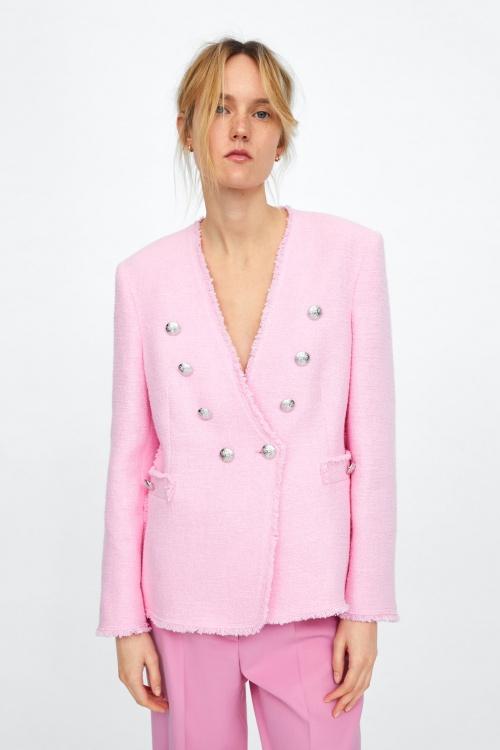 Zara - Veste en tweed