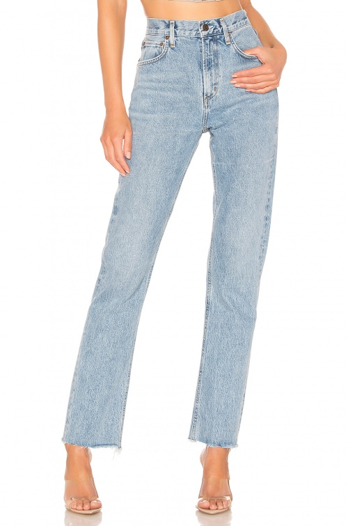 Agolde - Jeans taille haute