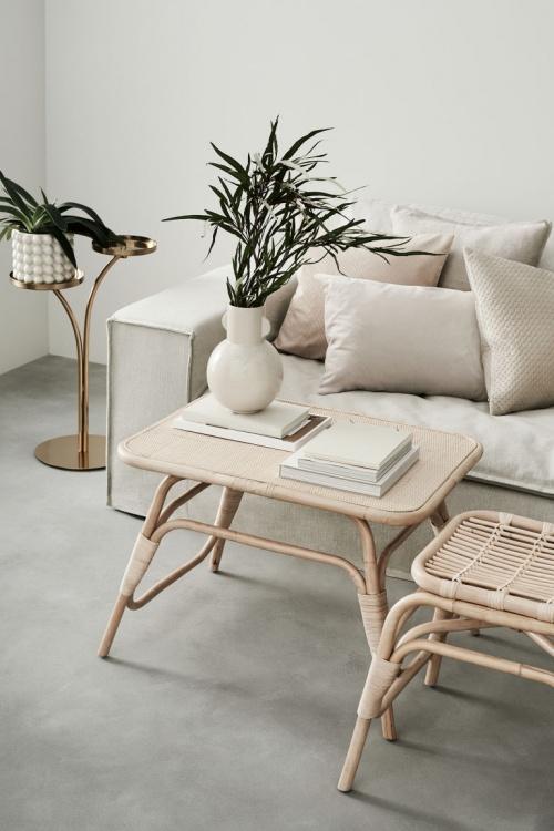 H&M Home - Tabouret en bois
