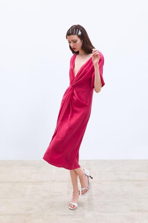 Zara - Robe à noeud