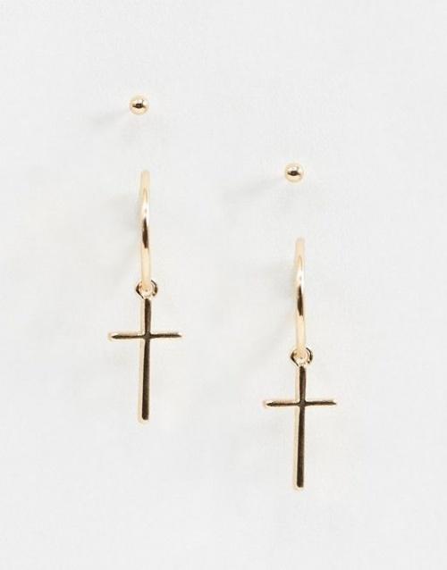 ASOS - Pendentif croix