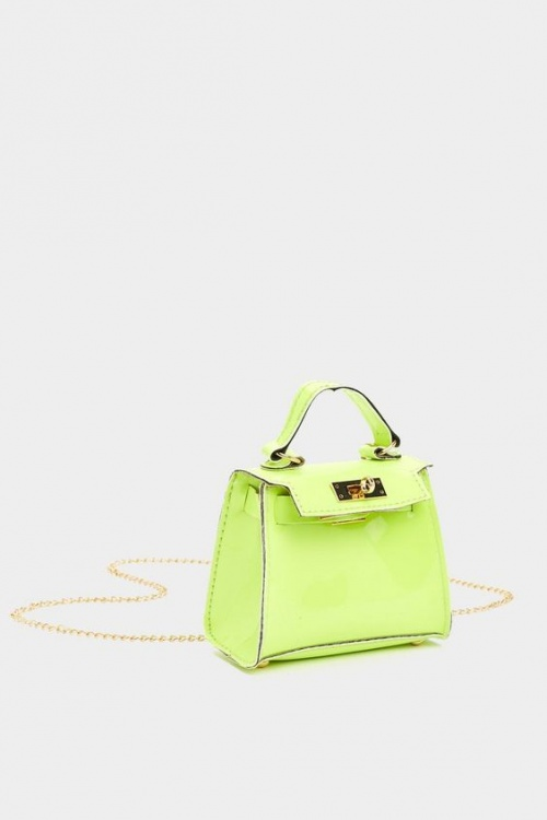 NastyGal - Mini sac néon