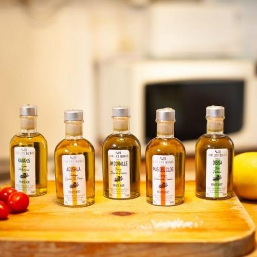 Sur les quais - Coffret découverte huile