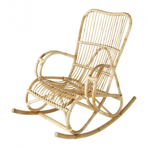 Maisons du monde - Rocking chair en rotin