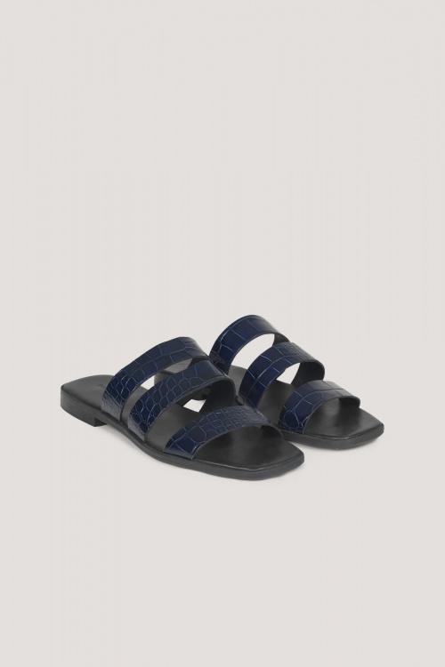 Samsoe - Sandales en cuir