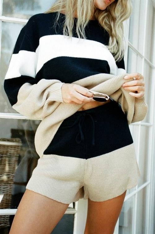 Sabo Skirt - Short en maille