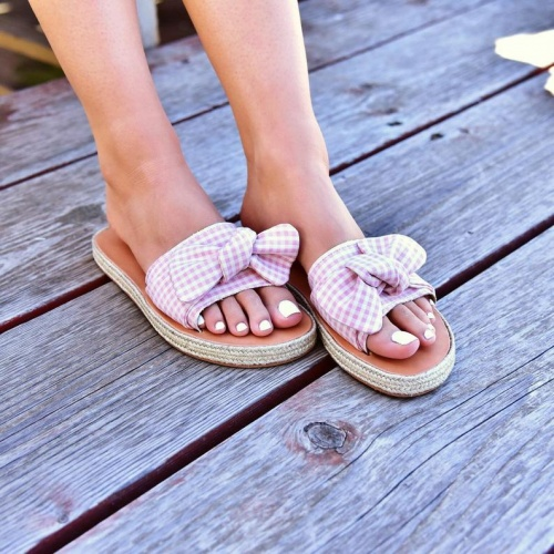 Pinky Promise - Sandales espadrilles