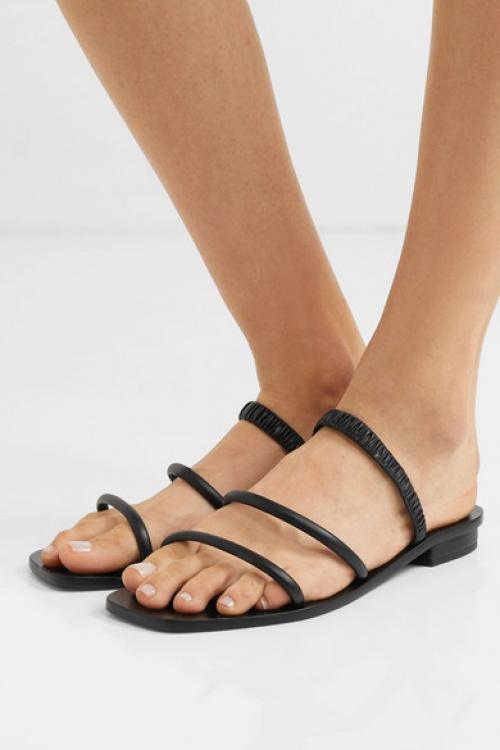 Cult Gaia - Sandales en cuir