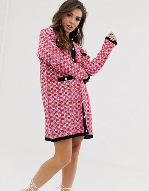 ASOS DESIGN - Robe cardigan
