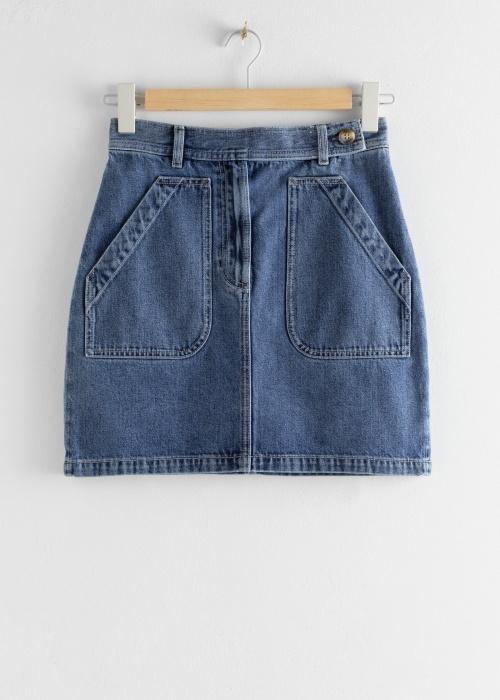 & Other Stories - Jupe en jeans