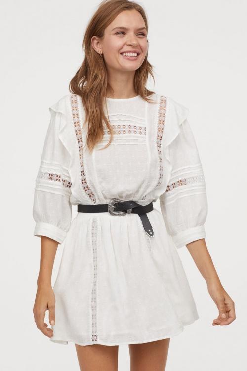 H&M - Robe en tissu jacquard