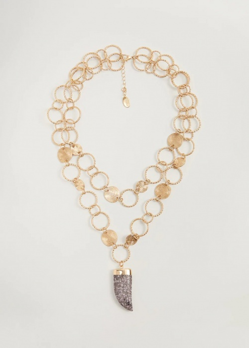 Mango - Collier maillon