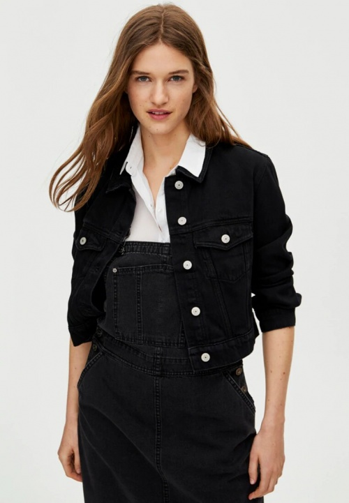 Pull & Bear - Veste en jean
