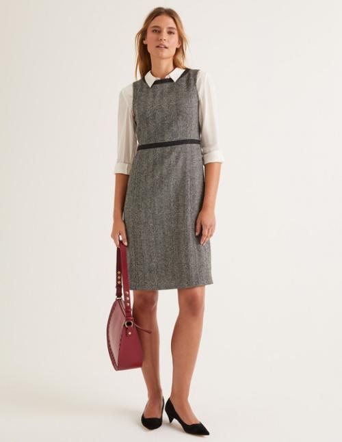Boden - Robe en tweed