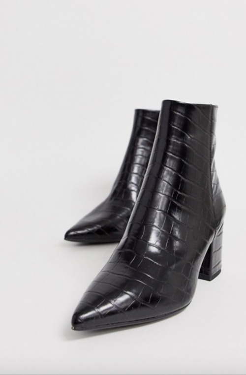 New Look - Bottines à bout pointu