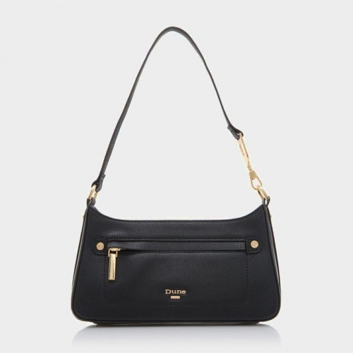 Dune London - Sac baguette noir