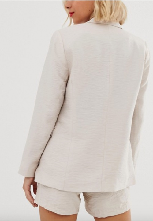New Look - Blazer d'ensemble taupe