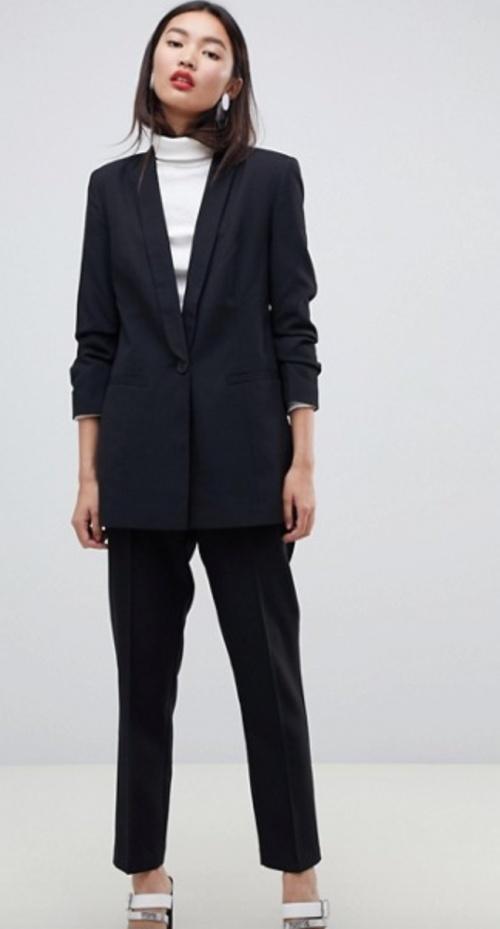 Asos Design - Blazer noir