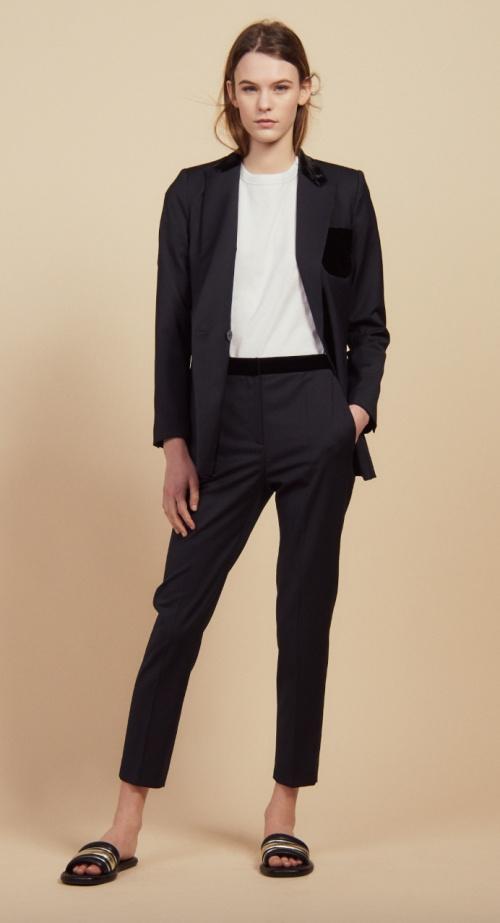 Sandro - Pantalon tailleur