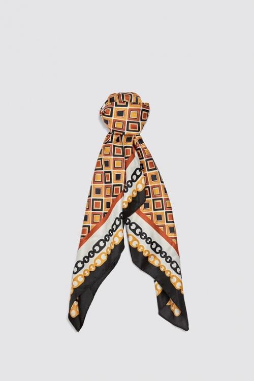 Zara - Foulard géométrique