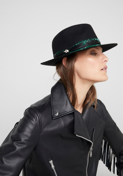 Zadig & Voltaire - Chapeau détail foulard