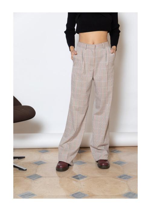 Parisienne et alors - Pantalon à carreaux