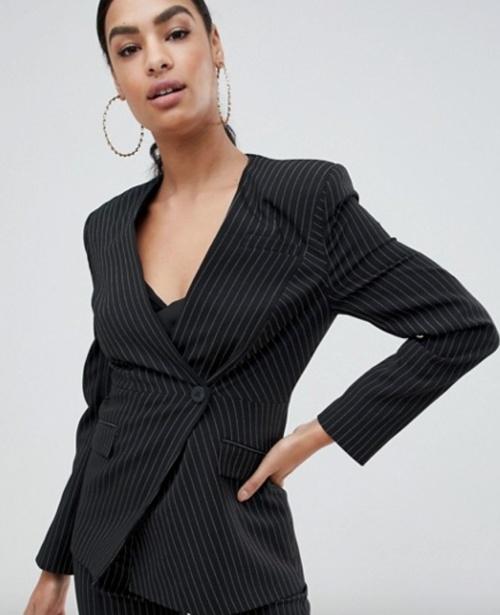 Asos Design - Veste blazer avec patch épaules