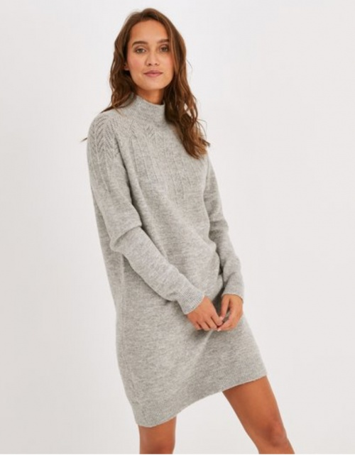 Promod - Robe pull grise