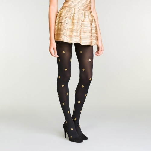 Dim - Collants à pois
