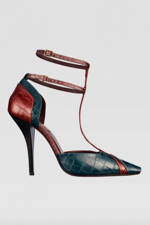 Zara - Chaussures à talons en cuir
