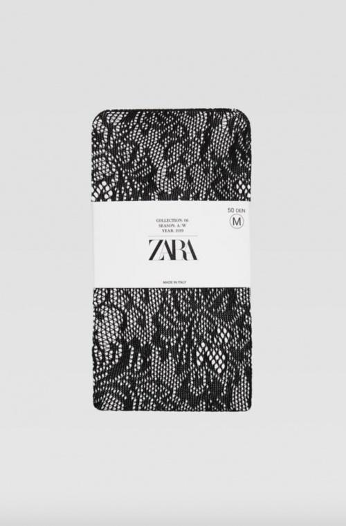Zara - Collants en dentelle