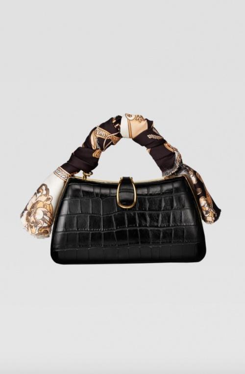 Zara - Mini sac bandoulière foulard
