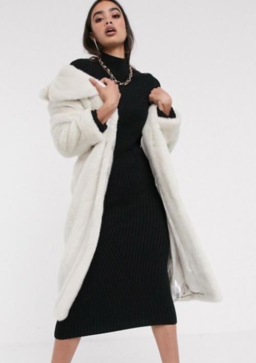 Asos Design - Manteau doudou