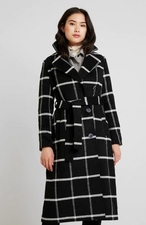 Anna Field - Manteau noir et blanc