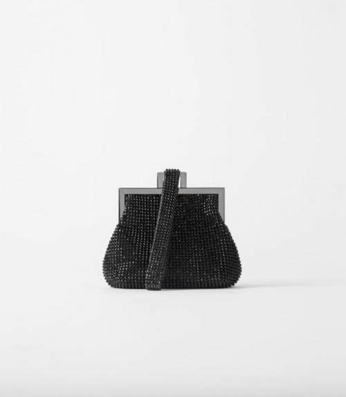 Zara - Mini sac à main à fermoir