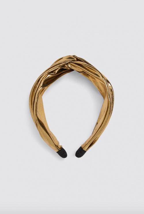 Zara - Bandeau métallisé