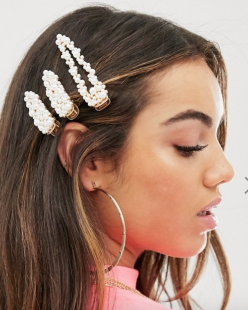 Asos Design - Lot de 3 barrettes