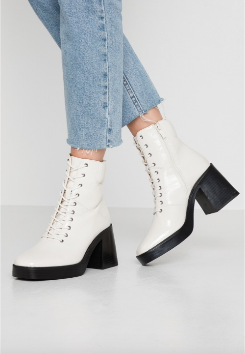 RAID - Bottines blanches
