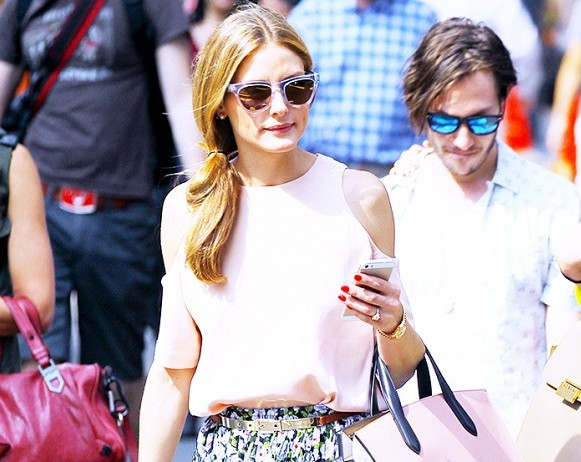 Olivia Palermo's engagement ring