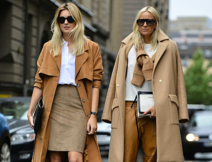 Stockholm Streetstyle camel