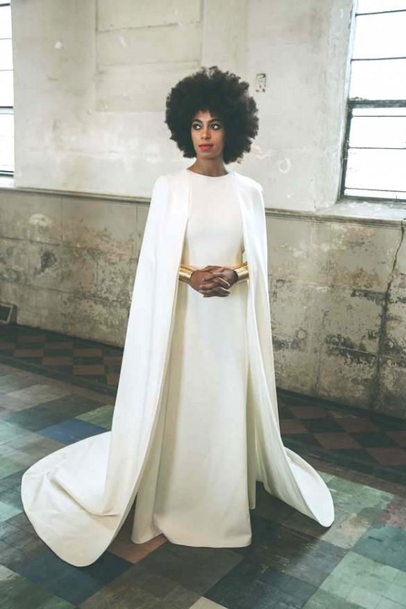 solange knowles la robe de mari e dont tout le monde