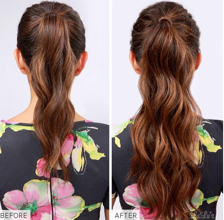 Bien-aimé Comment donner longueur et volume à vos cheveux sans extensions  YZ12