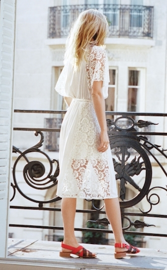 & Other Stories - Robe en dentelle