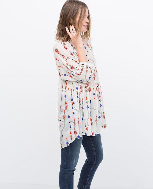 nouveau style de vie marque populaire riche et magnifique Zara lance sa collection spéciale grossesse