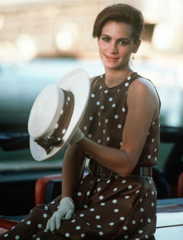 7a5495e5b98 Zara vend la version moderne de la robe à pois de Pretty Woman