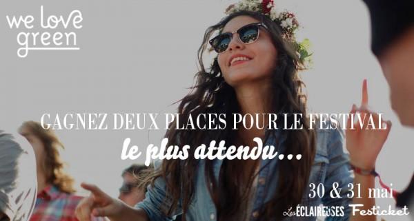 places pour la we love green
