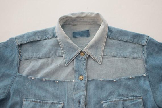 Berühmt Customiser sa chemise en jean : Le DIY le plus stylé du siècle  ZB01